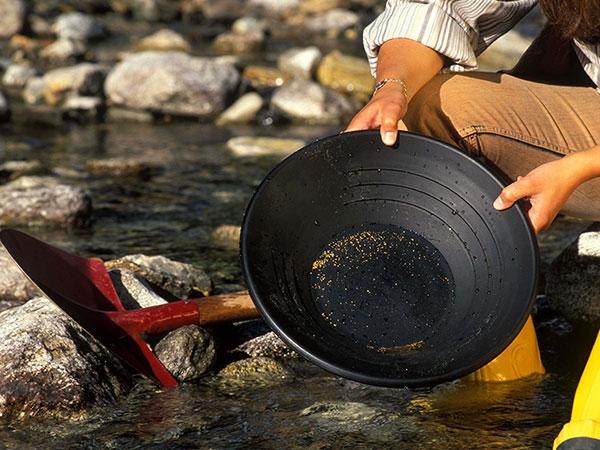 Goldwaschen in Heiligenblut